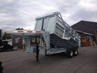 80 x 14' 5th wheel dump